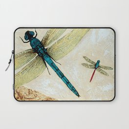 Zen Flight - Dragonfly Art By Sharon Cummings Laptop Sleeve