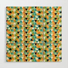 Scandy Triangles Wood Wall Art