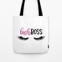 Lash Boss Tote Bag