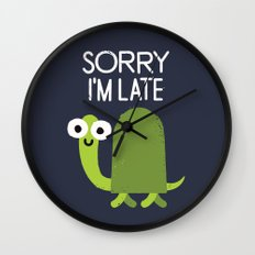 Tardy Animal Wall Clock