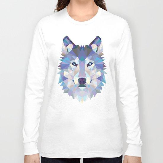Wolf Long Sleeve T Shirt By Cardinal Design Society6