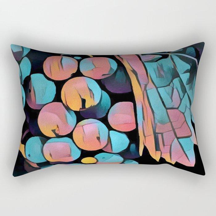 Wine Grapes Rectangular Pillow
