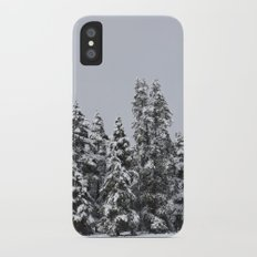 White Forest iPhone X Slim Case
