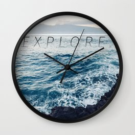 Ocean Escape Wall Clock