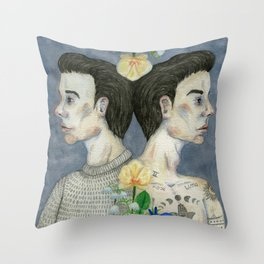Reflections Of The True Self Throw Pillow