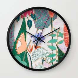 Speckled Garden Wall Clock