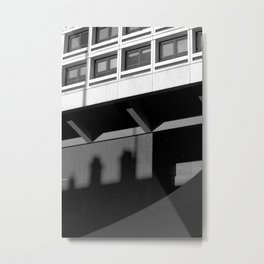 Architecture Angles  Metal Print