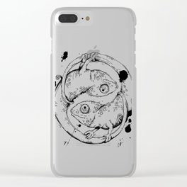 YinYang Clear iPhone Case