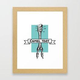 Camel Toess Framed Art Print