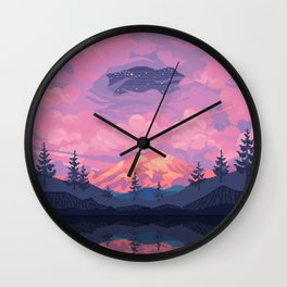 Mount Rainier Wall Clock
