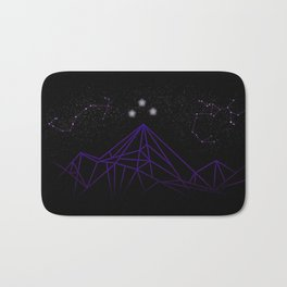 The Night Court Mountains Bath Mat