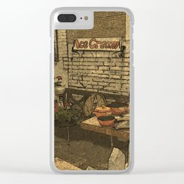 Jumble Shop DPPA150504f Clear iPhone Case
