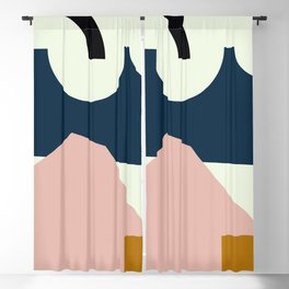 Shape Study #29 - Lola Collection Blackout Curtain