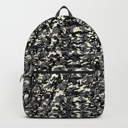 TCR-CAMO PRINT back pack - gray Backpack