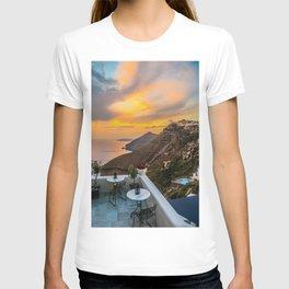 Gorgeous Santorini b T-shirt