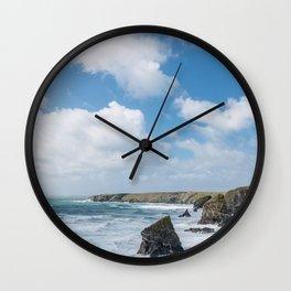 Bedruthan Steps Newquay Cornwall Wall Clock