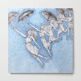 Blue Shift Metal Print