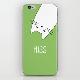 Hiss iPhone Skin