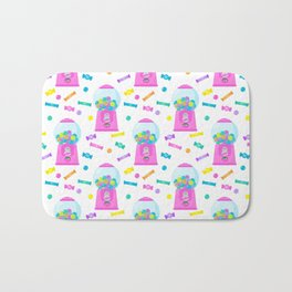 Pink Candy Dispenser – Rainbow Candy Shop Pattern Bath Mat
