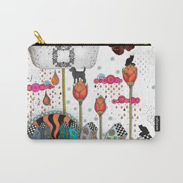 GIRAFFE IN THE BATH Carry-All Pouch