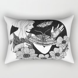 Daydreamer (Aurora Aksnes) Rectangular Pillow