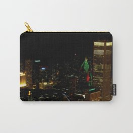 A Christmas Skyline in Chicago (Chicago Christmas/Holiday Collection) Carry-All Pouch