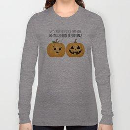 Pumpkin Botox Long Sleeve T-shirt