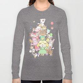 Animal Crossing (pink) Long Sleeve T-shirt