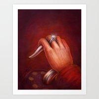 Engaged Art Print