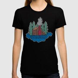 Walden - Henry David Thoreau (Coloured textured version) #society6 #decor #buyart T-shirt