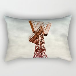 Woodwards in Clouds Rectangular Pillow