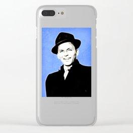 Frank Sinatra - My Way - Pop Art Clear iPhone Case