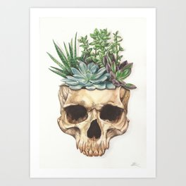 From Death Grows Life Art Print