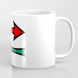 Left And Right Direction Arrows Coffee Mug