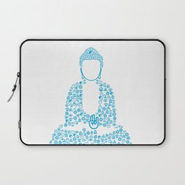 Buddha Symbol typography Laptop Sleeve