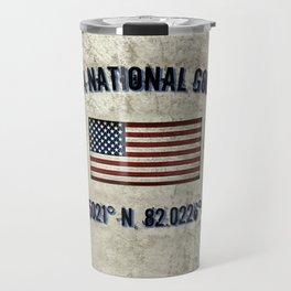 Augusta National Golf Club, Coordinates Travel Mug