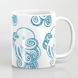 ombre octopuses Coffee Mug