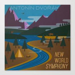 Antonín Dvořák New World Symphony Cover Art  Canvas Print