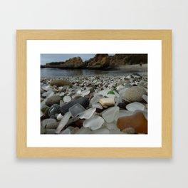 Glass Beach Framed Art Print