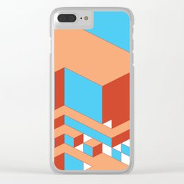 Canyon Clay Clear iPhone Case