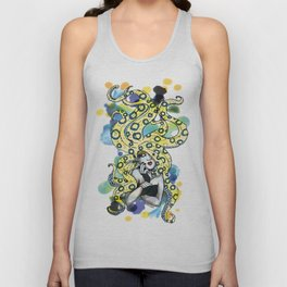 Cold Blooded - Blue Ringed Octopus Unisex Tank Top