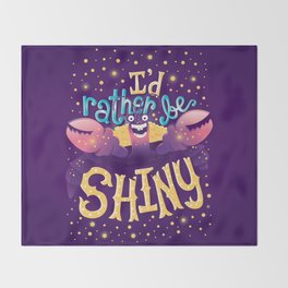 Shiny Throw Blanket