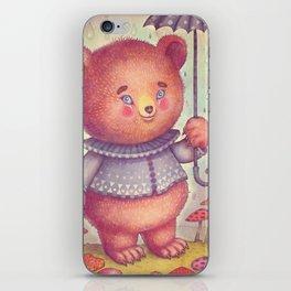 Mr. Bear iPhone Skin