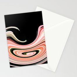 Visual distortion Effect Stationery Cards