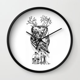 The Wonder Kingdom: The Owl of Life and Death Wall Clock