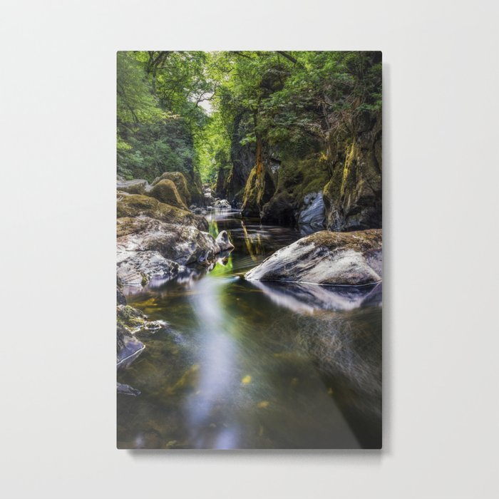 Summer At Fairy Glen Metal Print
