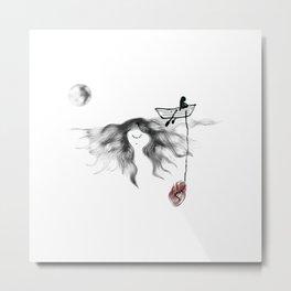 love boat Metal Print