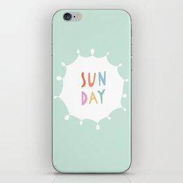 Sunday in Mint iPhone Skin