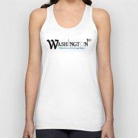 washington dc Tank Tops featuring Washington DC by Henderson GDI