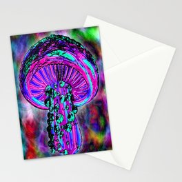 Trippy Shroom Stationery Cards